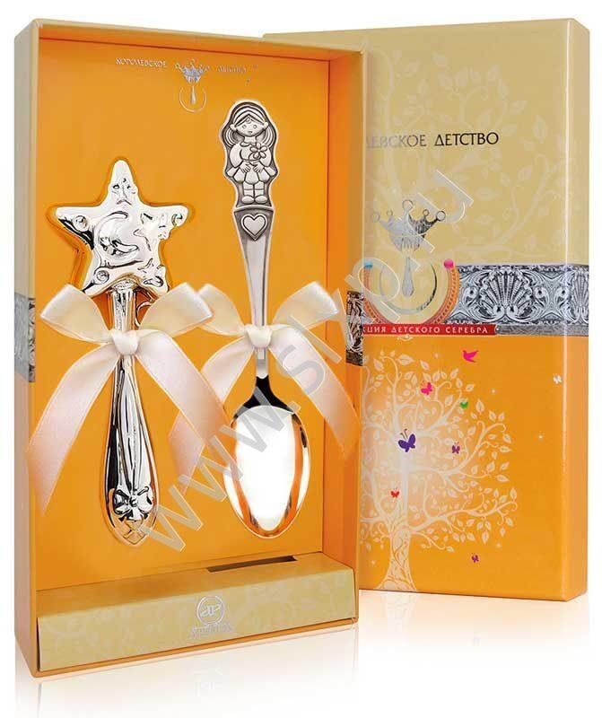 Серебряный подарок для девочки
