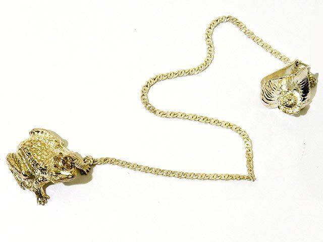 Ионизатор из серебра Царевна лягушка