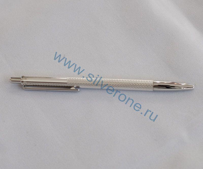 Серебряная ручка шариковая 60133