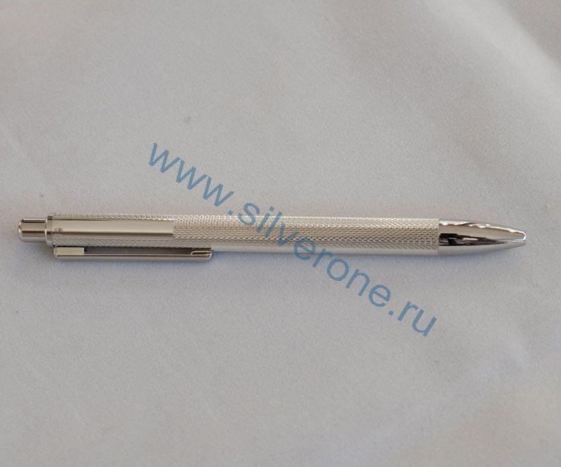 Ручка серебряная шариковая 60141