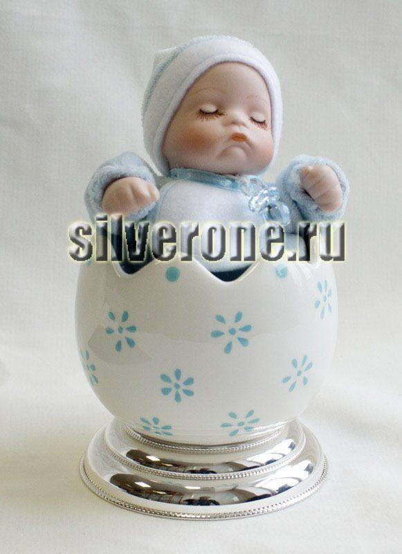 Музыкальный малыш с серебром