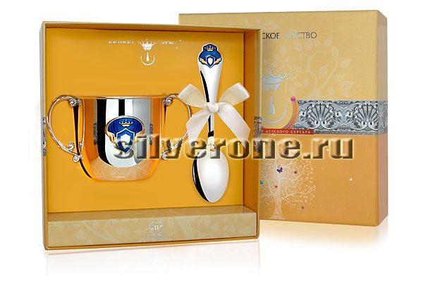 Серебряный набор Принц КД-1