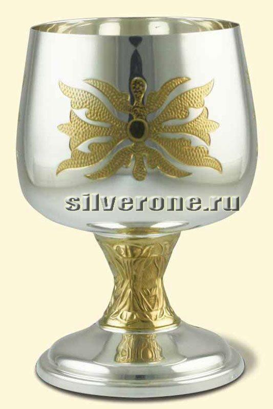 Серебряный бокал Луч солнца
