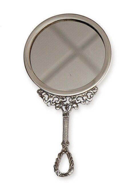Зеркало серебряное
