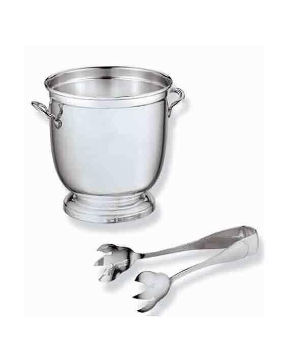 Ведерко для льда из серебра Джентельмен