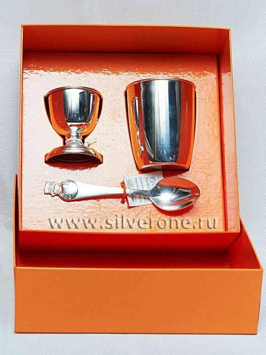Детское серебро для завтрака