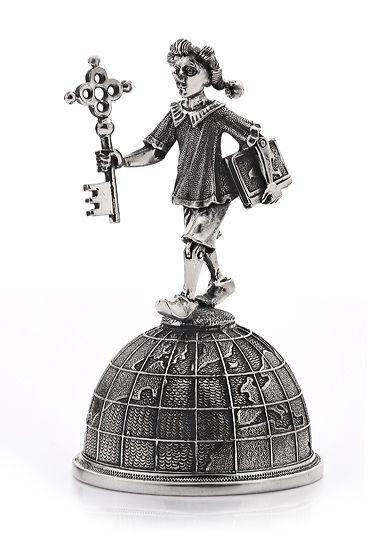 Серебряный колокольчик Буратино
