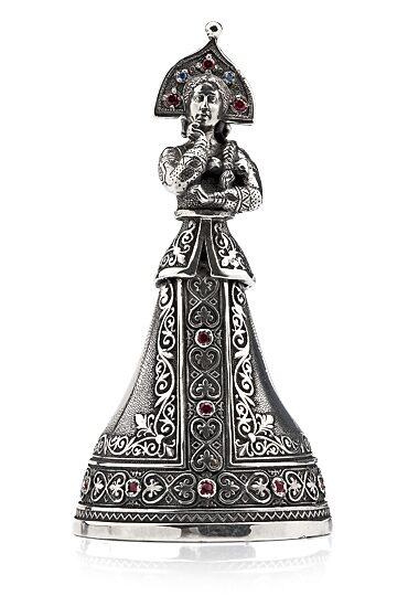 Серебряный колокольчик Василиса